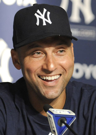 Derek Jeter gifts brighten outlook for young stabbing victim