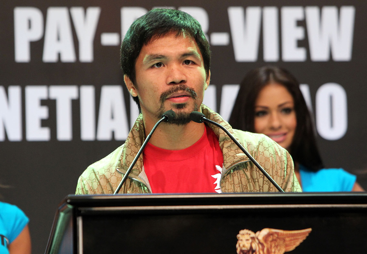 Manny Pacquiao, coming off back-to-back losses, guaranteed $18 million to fight Brandon Rios