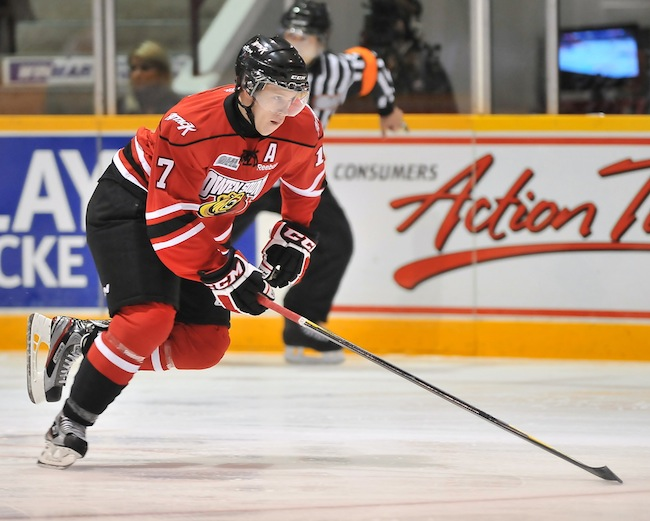 Owen Sound's Jarrod Maidens looks to make OHL return after lengthy concussion battle