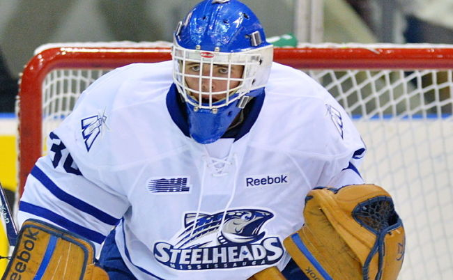 NHL draft tracker: Spencer Martin, Mississauga Steelheads