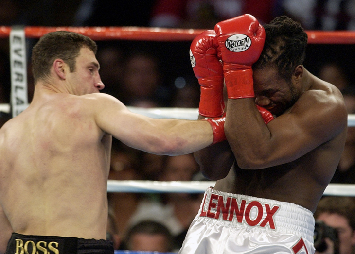 Lennox Lewis isn't coming back, not even for $100 million, and there are more than 6.6 million reasons why