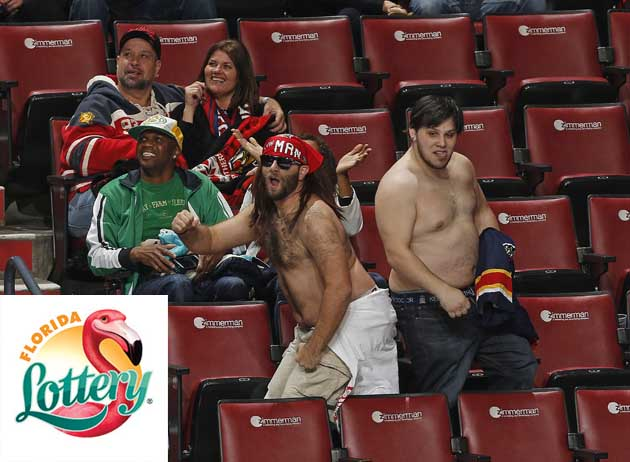 Florida Panthers will give you a seat in exchange for losing lottery tickets