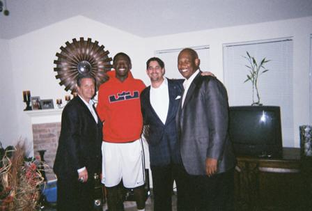 Details of John Calipari's in-home visit with Julius Randle
