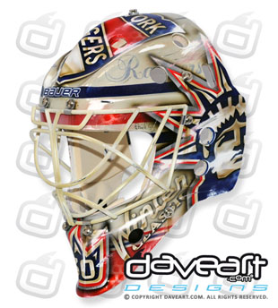 Henrik Lundqvist raises $35,000 for charity by selling Rangers Winter Classic mask