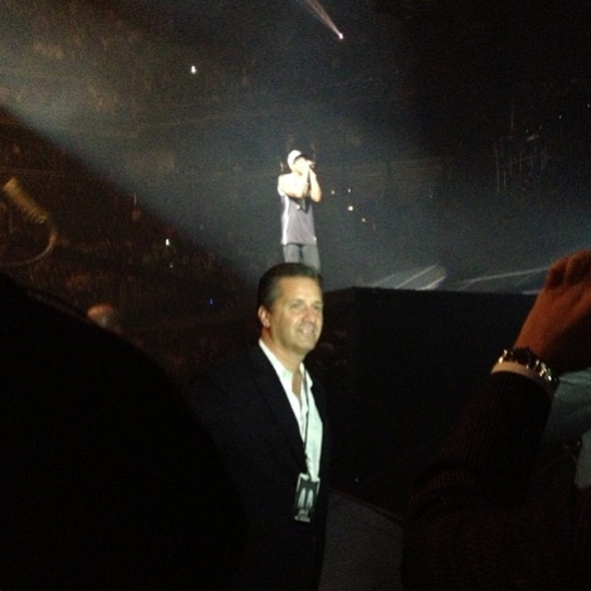 John Calipari visits Jay-Z for Barclays Center opening