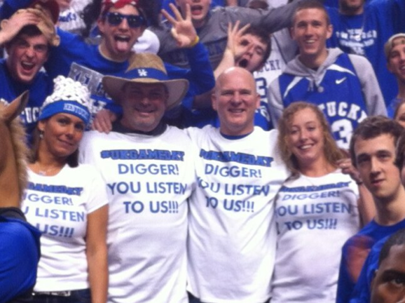 Kentucky fans don't forget Digger's 'Listen to Me' comment