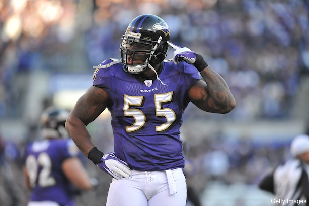 Terrell Suggs goes out of his way to bash Tim Tebow