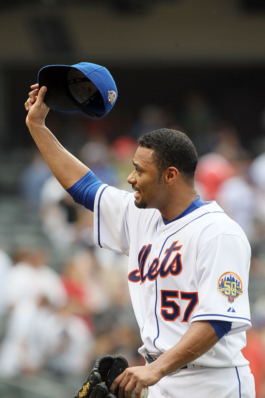 Johan Santana #57 Of The New York Mets Tips
