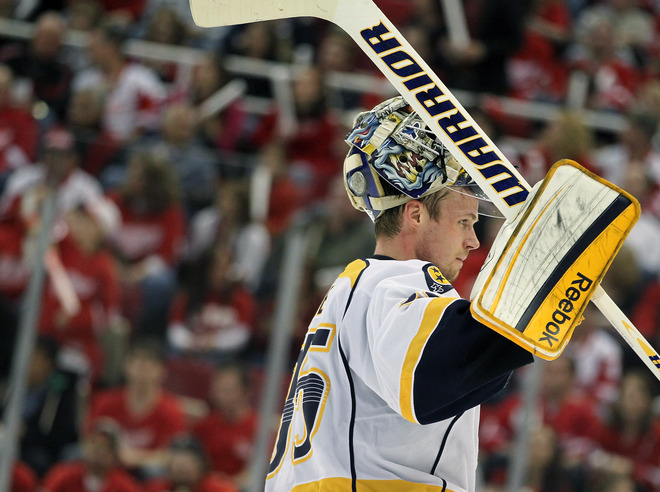 Pekka Rinne #35 Of The Nashville Predators Looks