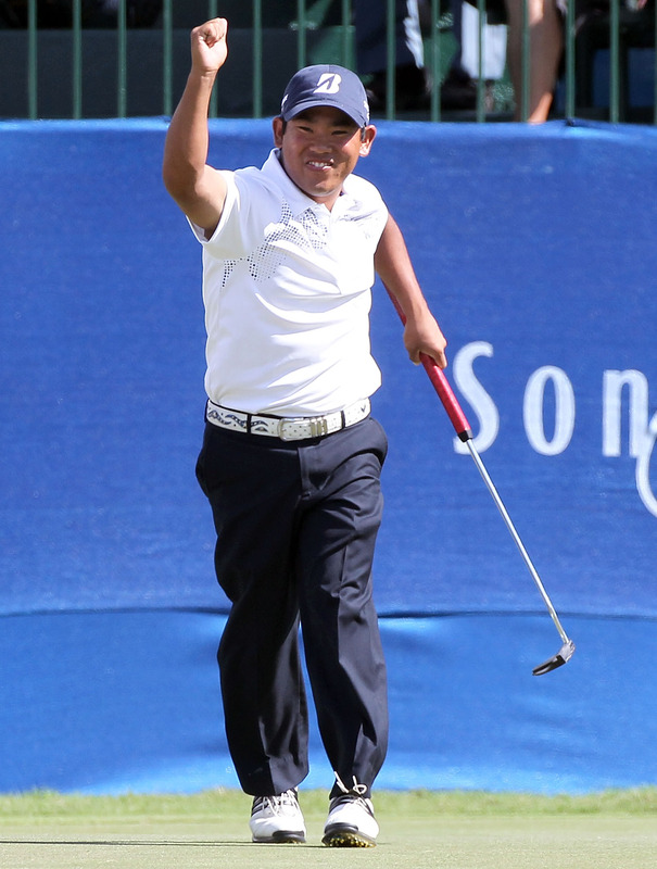 Tadd Fujikawa at the 2012 Sony Open