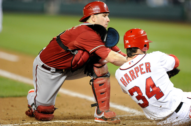 Bryce Harper Steals the Show As Nationals Top D-Backs