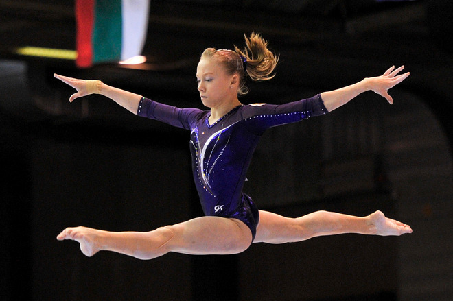 Russia's Anastasia Sidorova Performs