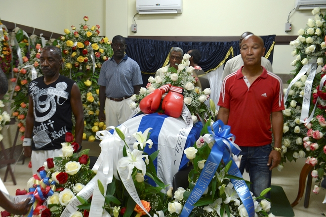 Cuba bids farewell to former Olympic champion Stevenson