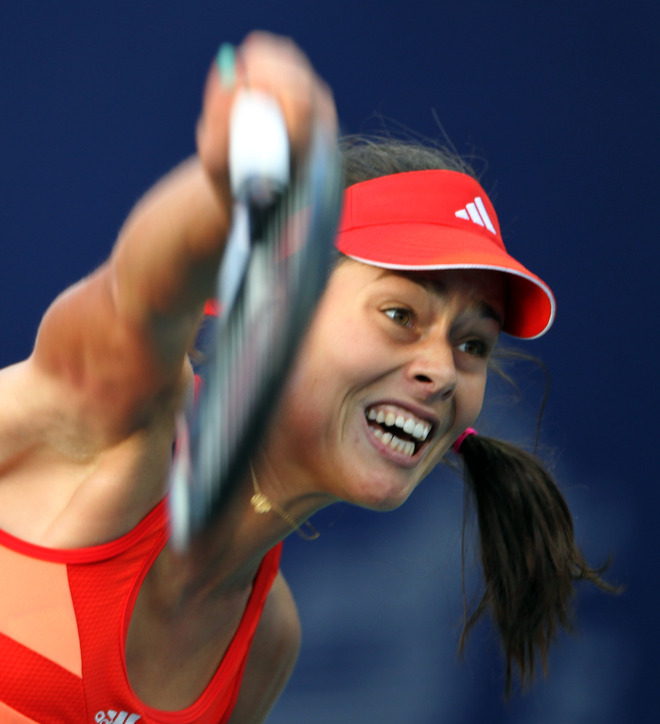 Ana Ivanovic Of Serbia Returns