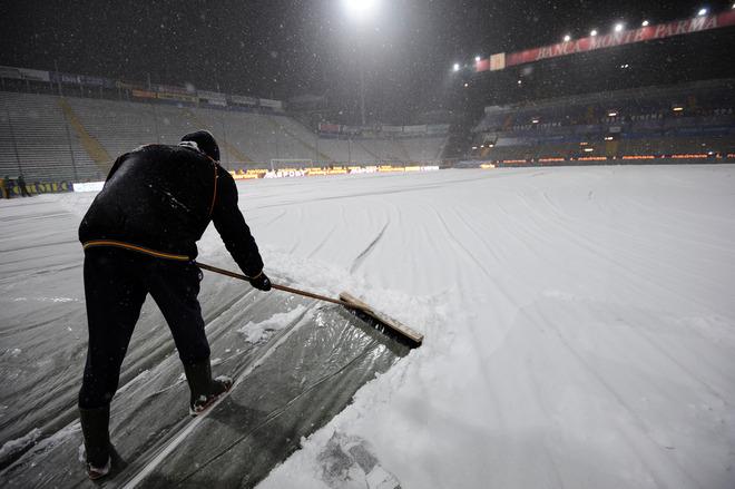 Parma Juventus Enio Tardini Snow