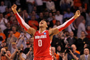 BOSTON, MA - MARCH 24: Jared Sullinger #0 of the Ohio State Buckeyes celebrates after defeating the Syracuse Orange during the 2012 NCAA Men's Basketball East Regional Final at TD Garden on March 24, 2012 in Boston, Massachusetts. (Photo by Jim Rogash/Getty Images)
