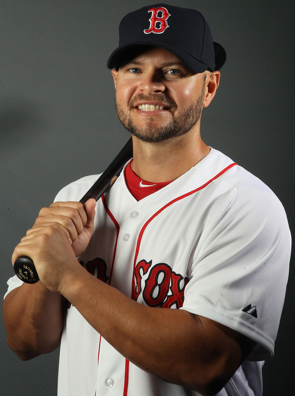 Cody Ross of the Boston Red Sox poses for a portrait on February 26, 2012