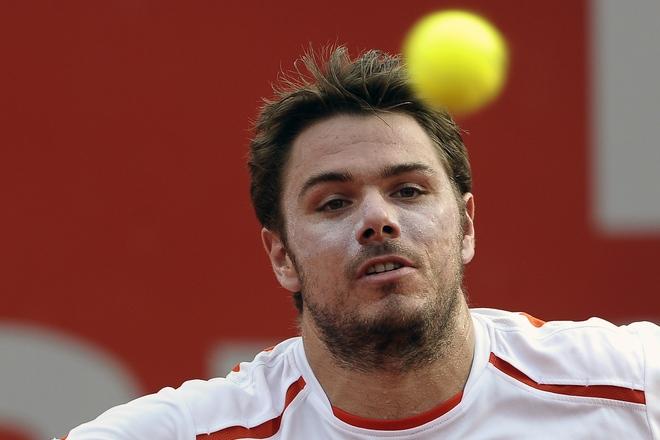 Switzerland's Player Stanislas Wawrinka Eyes