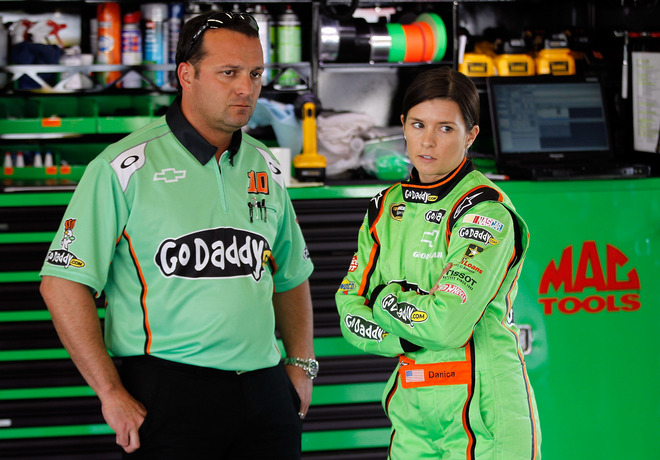 Danica Patrick, Driver Of The #10 GoDaddy.com Chevrolet, Speaks