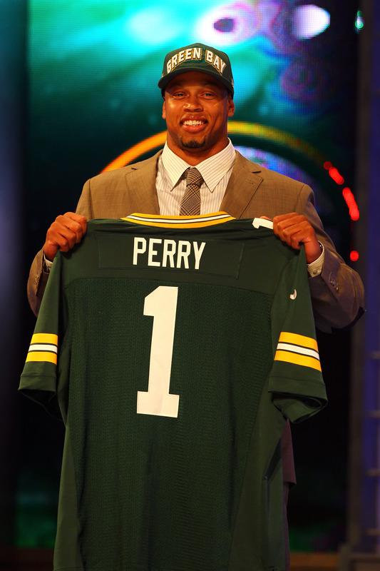 New Packers OLB Nick Perry - NFL Draft Photo