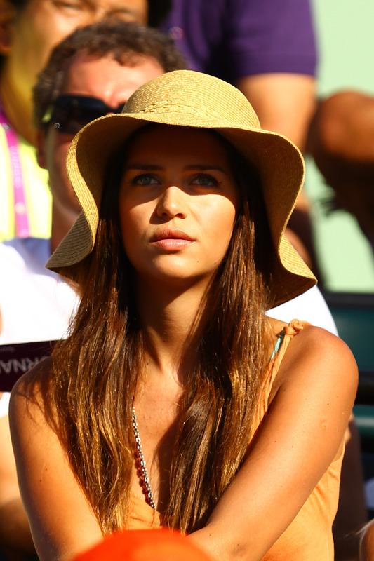 Model Zaira Nara, Girlfriend Of Juan Monaco Of Argentina Watches