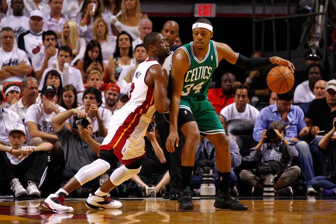 Paul Pierce #34 Of The Boston Celtics Posts