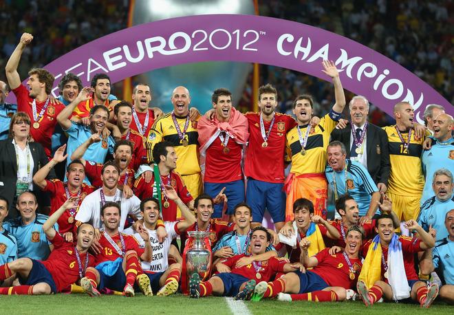 تتويج اسبانيا ببطولة اوروبا 2012