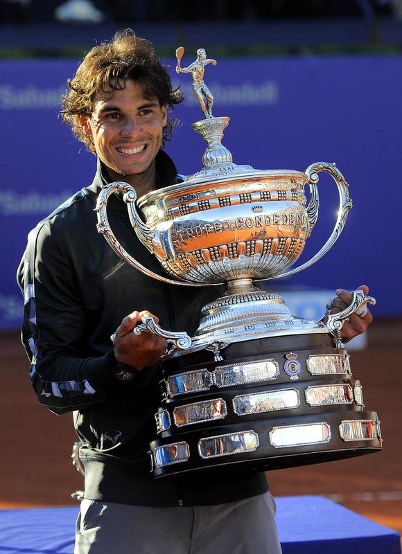 Rafael Nadal Of Spain Poses