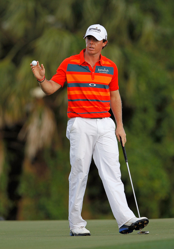 Rory McIlroy Of Northern Ireland Waves