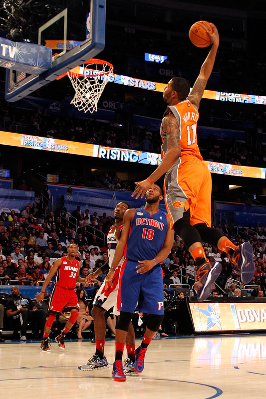 Markieff Morris #11 Of The Phoenix Suns And Team Shaq Dunks