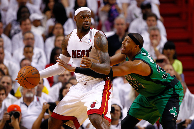Bballvideos 2012 Playoffs Conference Finals Celtics Vs Heat Game 1