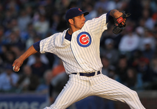 Matt Garza | Photo Jonathan Daniel/Getty Images