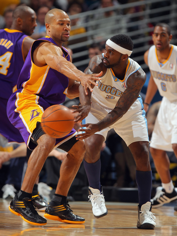 Ty Lawson #3 Of The Denver Nuggets Passes