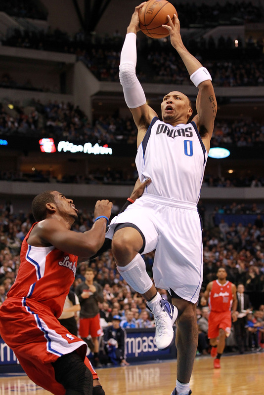 Shawn Marion #0 Of The Dallas Mavericks Takes