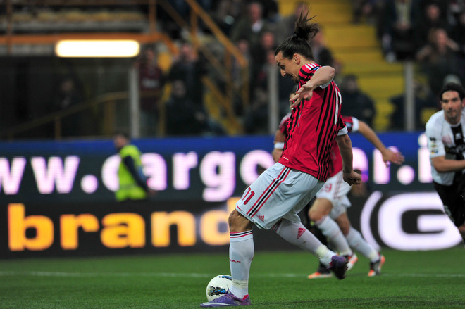 |HD|Zlatan Ibrahimovic vs Parma