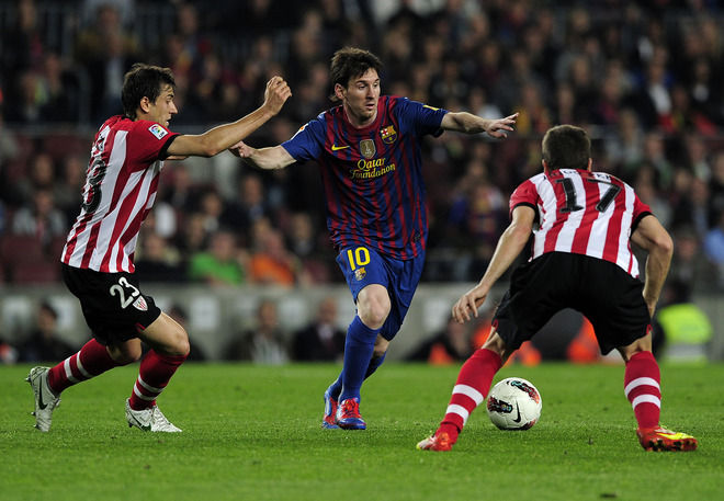 Athletic Bilbao 0:3 Barcelone resume finale de la Copa Del Rey live en direct 25/05/2012