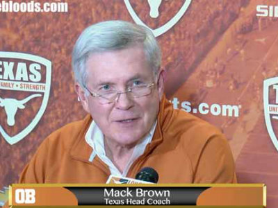 Mack Brown's resignation press conference