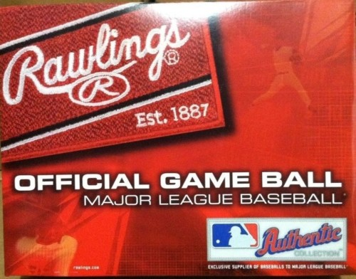 1 Dozen Rawlings Official MLB Baseballs