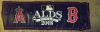 2008 ALDS Banner From Historic Fenway Park