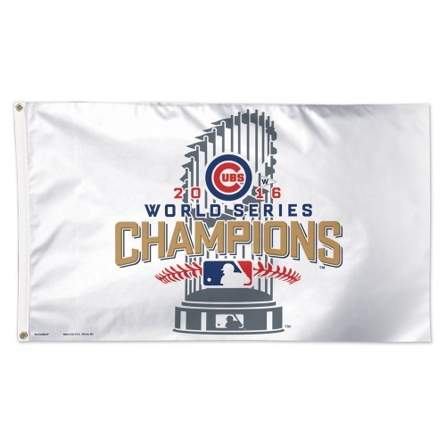 Chicago Cubs 2016 World Series Champions 3'x5' Flag