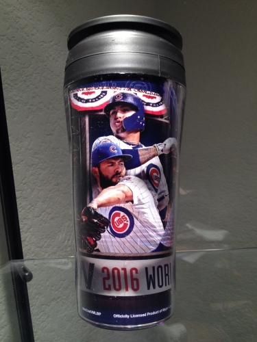 Cubs 2016 World Series Champions Travel Mugs