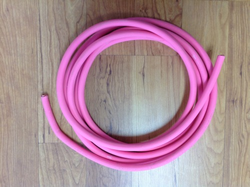 Pink Cable 1/0 15ft