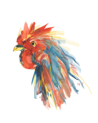 Chicken Colors-8x8