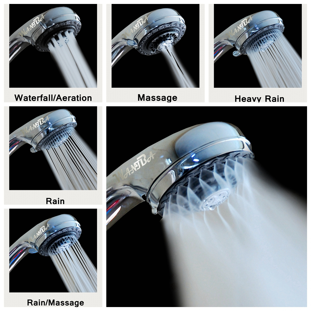 Charmant Buy 7 Setting Watersaving Handshower Rain Massage Showerhead For 29.99$  Online At Http://www.hunolulu.com