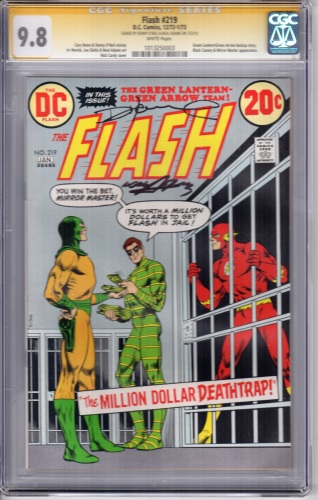 The Flash 219 CGC 9.8 SS