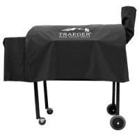 Traeger Lil' Tex w/Cold Smoker Cover