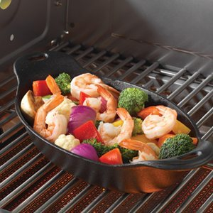 Cast Iron Oval Grilling Dish