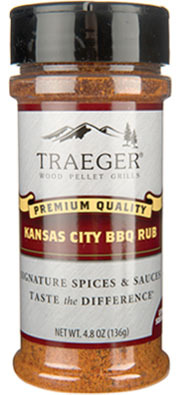 Traeger KC BBQ Rub 4.8 oz.