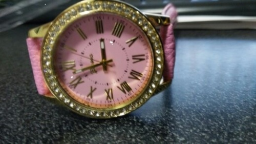 ladies Pink watch