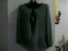 green blouse by MaxStudio
